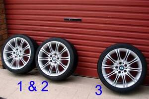 "Genuine 18"" Factory BMW Style 135 Staggered Sports Wheels Penrith Penrith Area Preview"