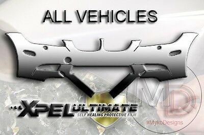 XPEL ULTIMATE PPF Paint Protection Film Pre-Cut Bumper ALL VEHICLES! ()