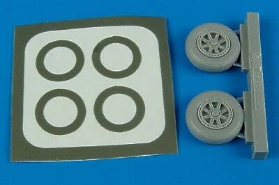 Aires 1/72 TBM Avenger wheels and masks for Hasegawa kit 7208