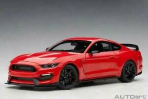 Ford Shelby GT-350R Race Red 1/18 Scale DiecastCar Model AUTart
