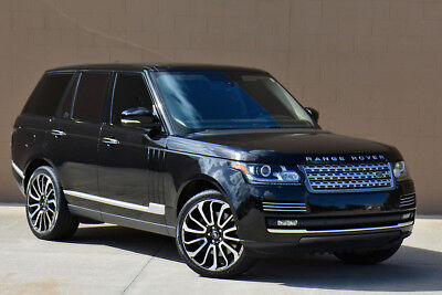 2014 Range Rover Autobiography Supercharged Executive Rear Seating