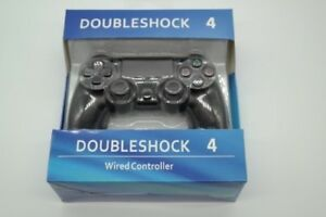 Double Shock 4 - Wired Controller for PS4