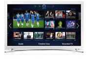 Samsung White TV