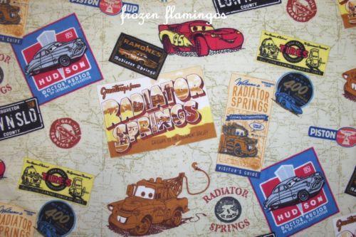 Disney Cars Fabric Ebay