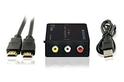 Enko Products Mini Composite Hdmi To Rca Cvbs Av Converte...
