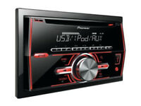 Pioneer FH-460Ui 200W FM/AM CD MP3 USB AUX Car Stereo