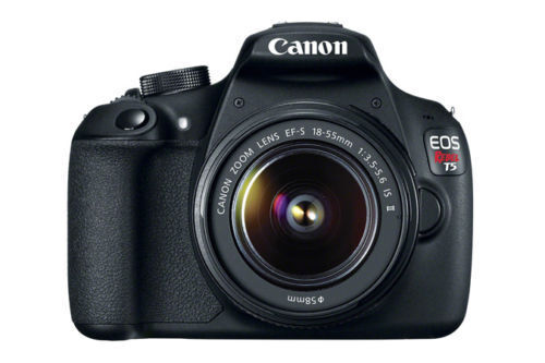 Canon EOS Rebel T5 DSLR Camera with 18-55mm IS Lens Black 9126B003