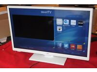 "JVC LT-24C656 Smart 24"" LED TV with DVD COMBO"