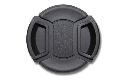 Kamera Objektivdeckel Innengriff Kunststoff 82mm schwarz mit Band