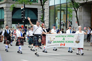 Bagpipes and Drumming Lessons - Cours de Cornemuse et Tambour West Island Greater Montréal image 2
