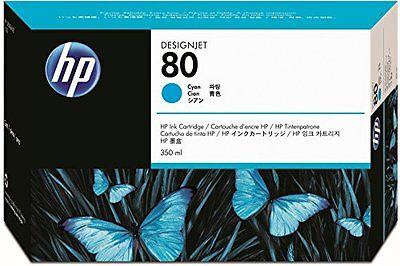 Hp Designjet 1050c-cyan Inkjet Ink-4400 Page Yield Hewc4846a New