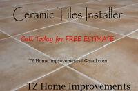 Premium Quality Ceramic Tiles Installer by TZ Renovations