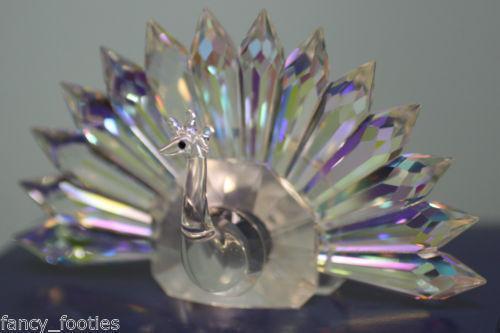 Swarovski Peacock Figurine Ebay