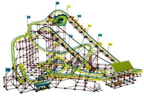 knex screamin serpent roller coaster instructions pdf