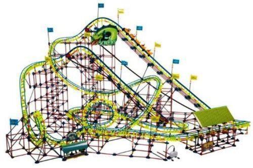 knex screamin serpent roller coaster instructions pdf