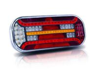 BRAND NEW TRAILER LED REAR LIGHTS 12V/24V MULTIFUNCTION REAR TRAILER LIGHTS HGV