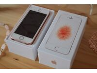 Apple iPhone SE Unlocked, Rose Gold. Excellent Condition