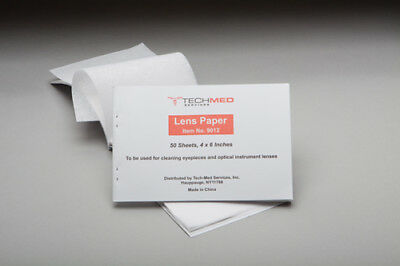 5 Booklets Cleaning Paper Tissues for Camera Lens,Microscope Eyepieces #9012 ()