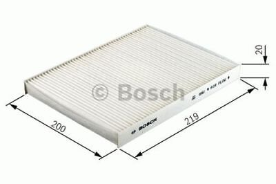 GENUINE OE BOSCH CABIN FILTER M2088 - HAS VARIOUS COMPATIBILITIES