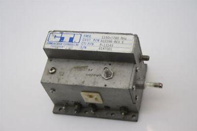 Microwave Rf Oscillator Freq. 1075-1245 Mhz 24 Dbm Cavity Adjust Tested