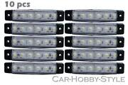 LED Marker Lights White 12V