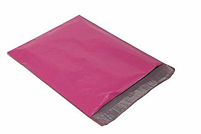 100 10x13 HOT PINK Poly Mailers Shipping Envelopes Couture Boutique Bags
