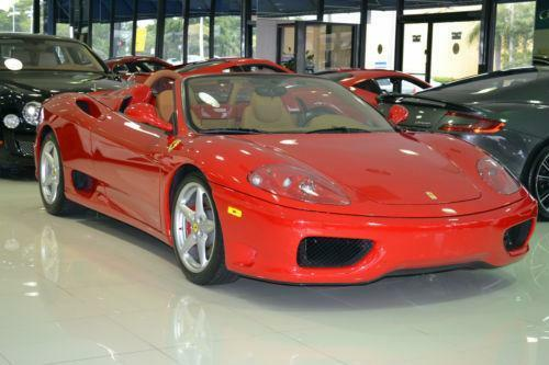 ferrari 360 spider ebay. Black Bedroom Furniture Sets. Home Design Ideas