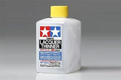- Tamiya THINNER Hobby Model Paint LACQUER Thinner 250ml 87077
