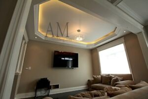 Crown Moulding, Wainscoting Moldings, Installation Services