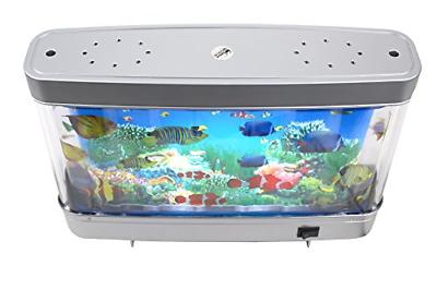 Lightahead Artificial Tropical Fish Aquarium Decorative Lamp Virtual Ocean in A 8