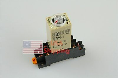 New Ac 110v H3y-2 Delay Timer Time Relay 0-10 Second 110vac Base