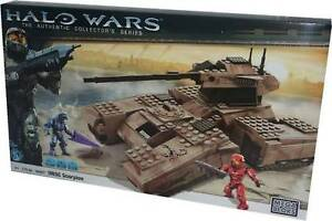 MEGA BLOKS HALO WARS UNSC SCORPION TANK CHAR D'ASSAULT # 96807