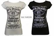 Ladies Jack Daniels T Shirt