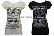 Ladies Jack Daniels T Shirt