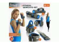 Lady's exercise weights