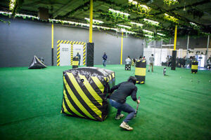 Archery tag - $5/player grand opening special! Bubble soccer