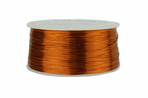 26GA  26AWG Gauge Enameled Copper Magnet Wire 1/4 lb 4 oz  315
