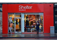 Shelter Tollcross Volunteers Wanted!