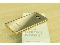 *** IDEAL XMAS GIFT*** Samsung galaxy note 5 unlocked brand new boxed comes with warranty & receipt