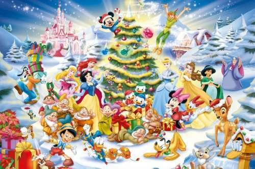 Ravensburger Disney Christmas Eve Party 1000pc Jigsaw Puzzle RB19287-8