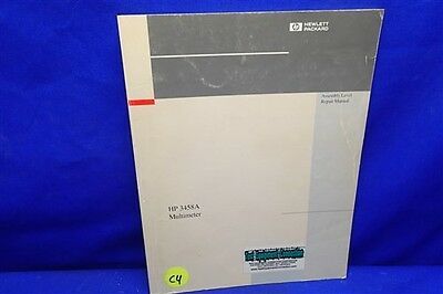 Hp 3458a Multimeter Assembly Level Repair Manual 03458-90010