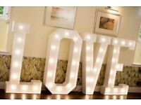 5ft Marquee love Letters to buy