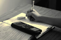 Professional Tutoring - math, English and more