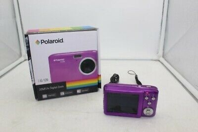 "Polaroid IG128 20.0MP Digital Camera 4x Zoom 2.7"" Screen Compact"