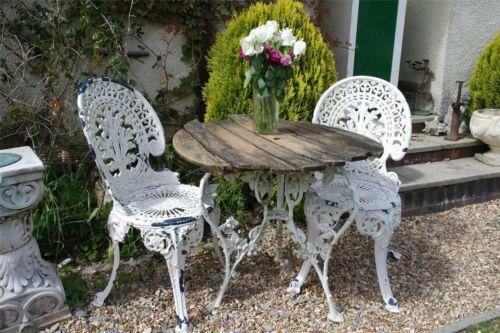 Vintage Garden Table And Chairs Ebay
