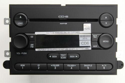 2007 Ford Explorer Radio