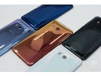 HTC U11 6GB Ram 64gb Rom 4G LTE Smartphone - Silver / Black / Blue GRADED