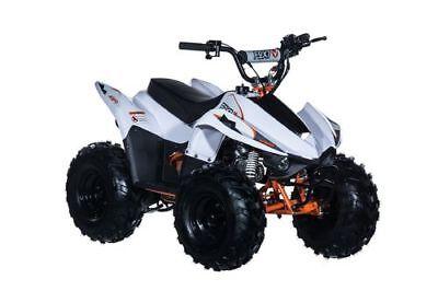 Kayo Fox 70 Kinder Quad weiß Kinderquad Fahrzeug Benzinquad