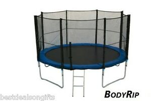 10FT-REPLACEMENT-6-POLE-TRAMPOLINE-SAFETY-NET-ENCLOSURE-SURROUND-SAFE-CHILD