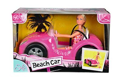 Spielzeug Steffi Love Puppe Strandauto Cabriolet Kinder Mädchen Auto Spiel Spass